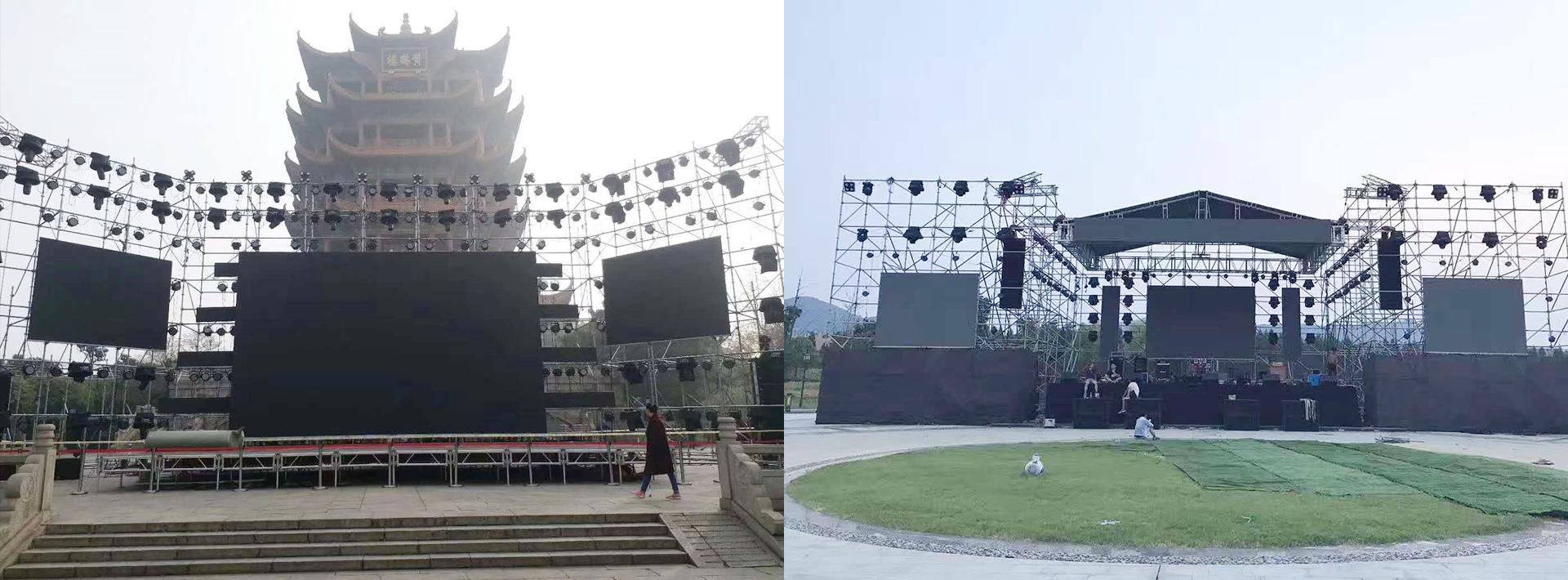 钢铁折叠舞台
